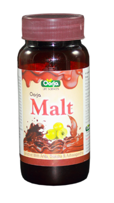 Picture of OORJA MALT CHOCOLATE FLAVOUR 400 GM